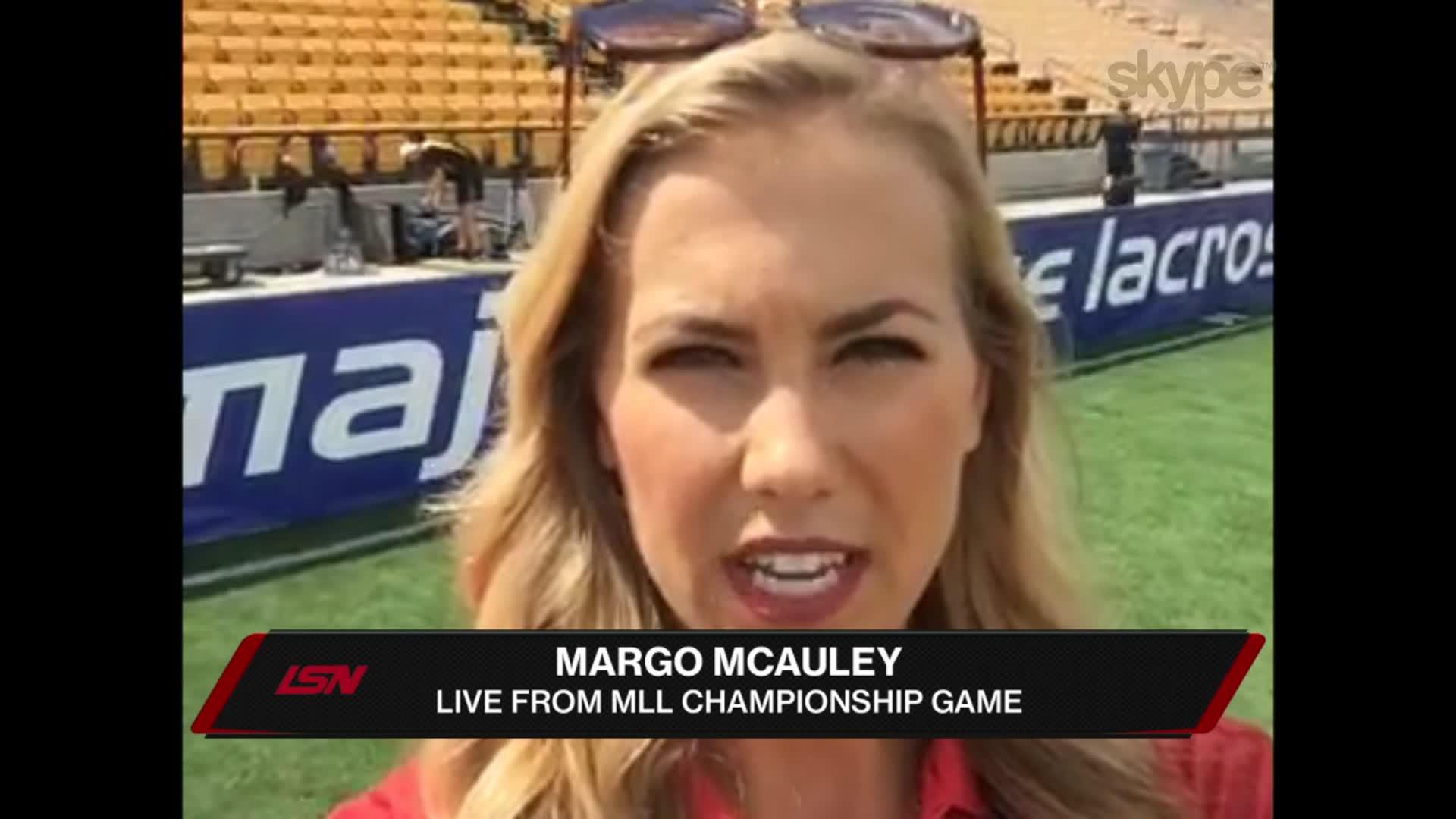 Player Pregame Prep in Georgia with Margo McAuley
