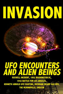 Image of Invasion: UFO Encounters and Alien Beings