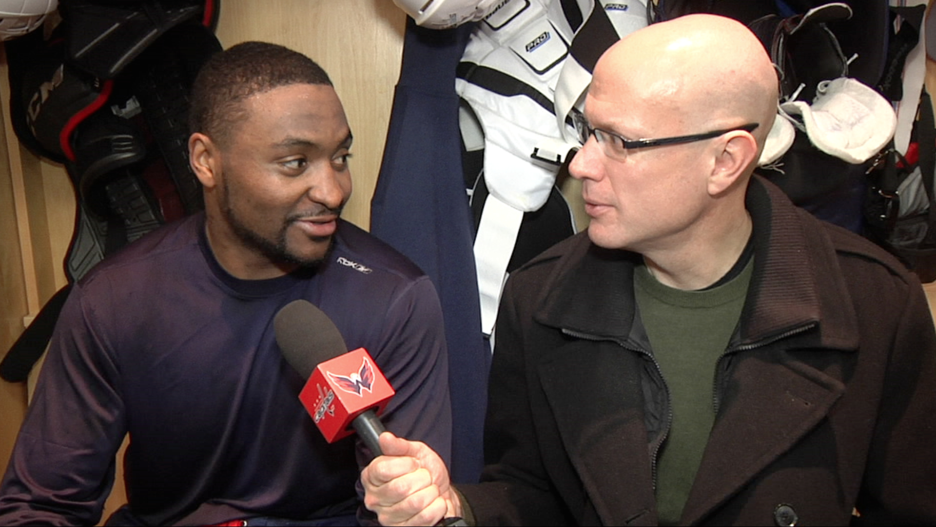 Rinkside Update: Joel Ward 1/6/14