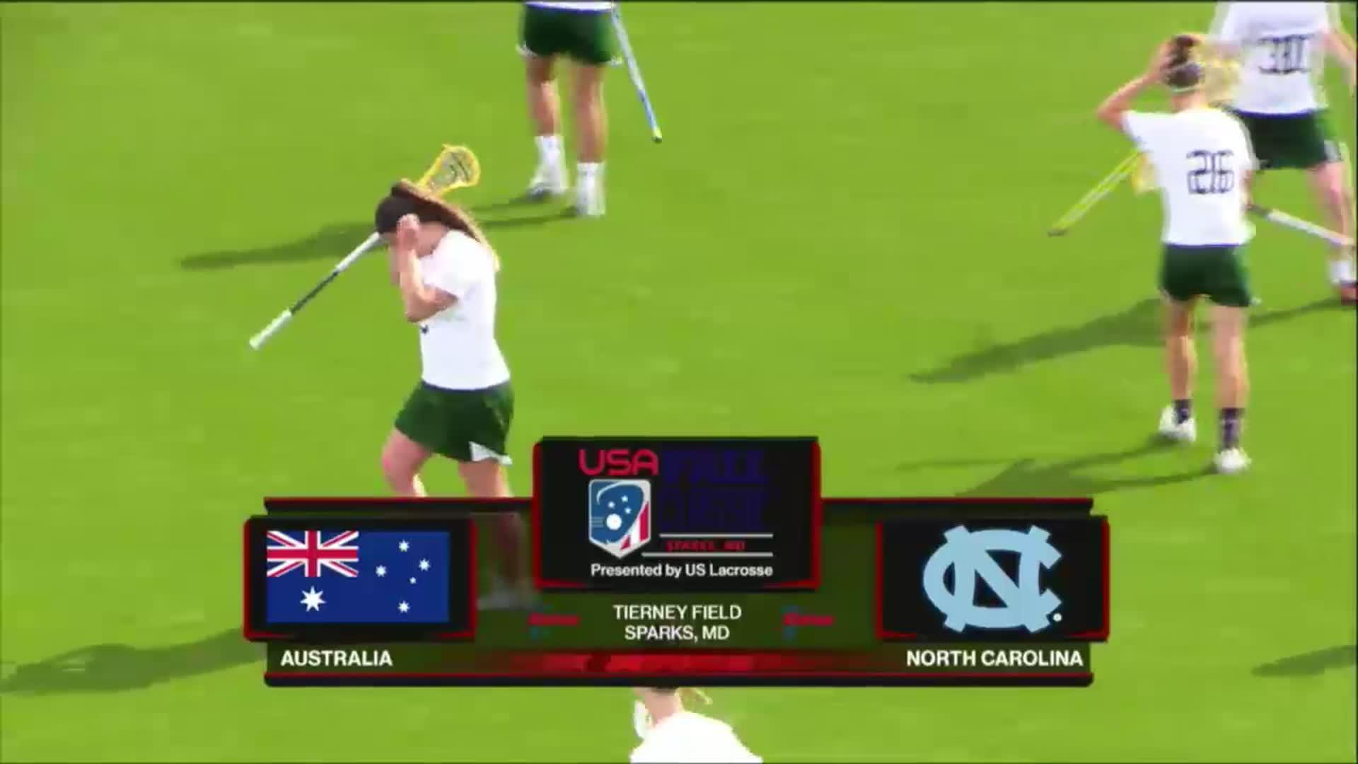 USA Fall Classic: Australia vs UNC