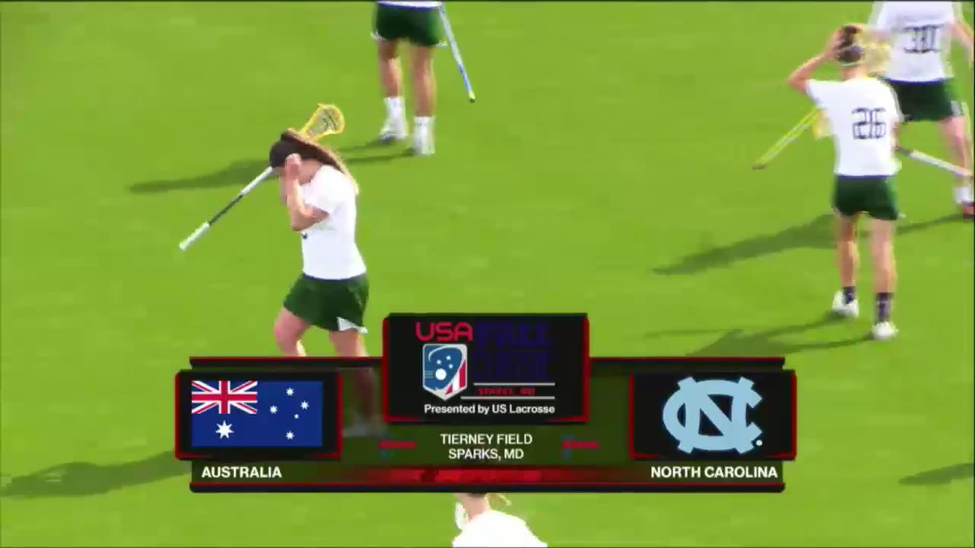 USA Fall Classic: Australia vs UNC