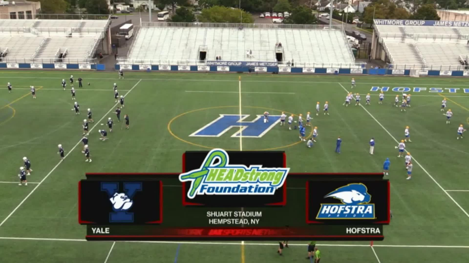 Headstrong Classic 10/8/16: Yale vs Hofstra