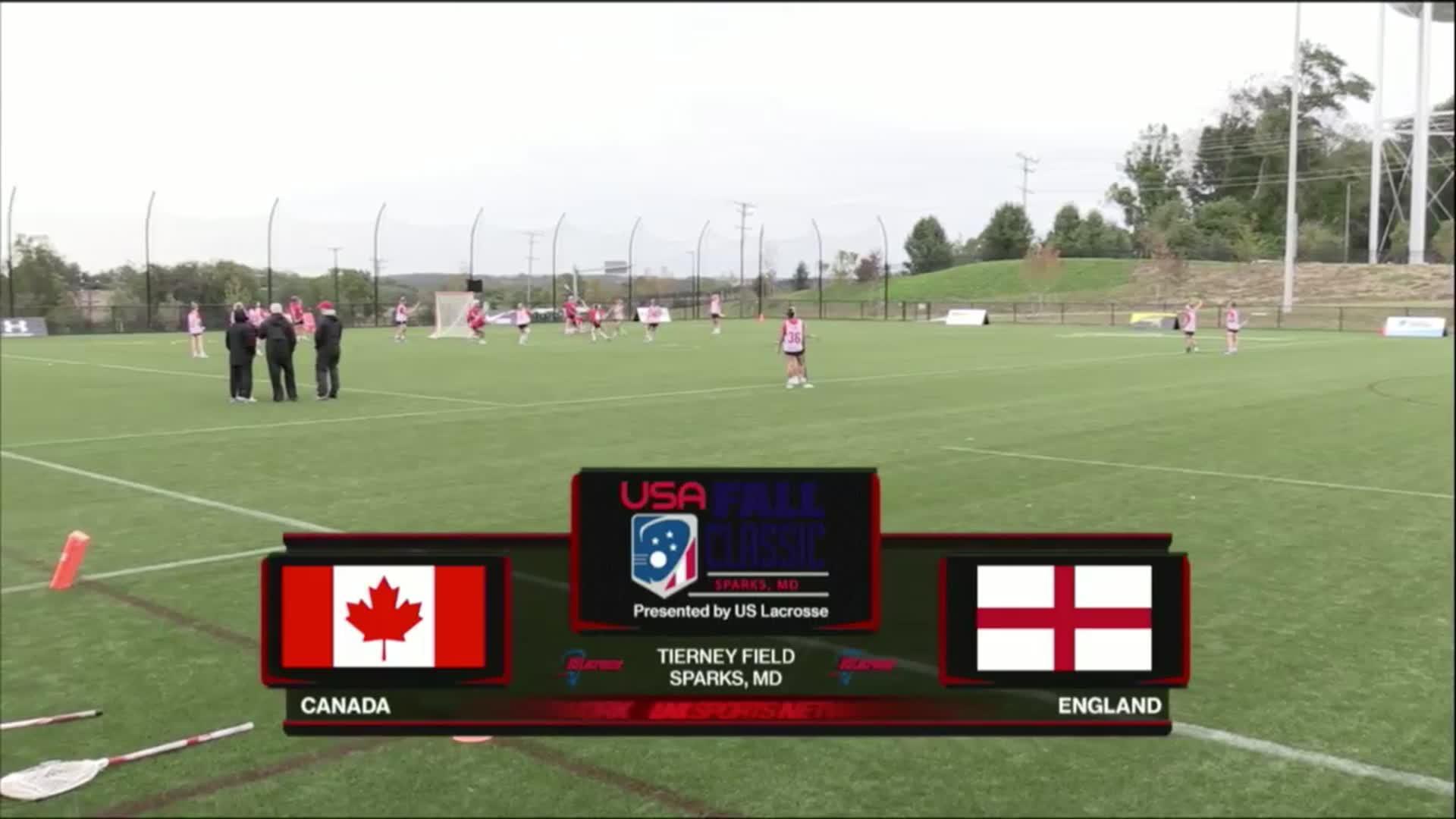 USA Fall Classic: Canada vs England
