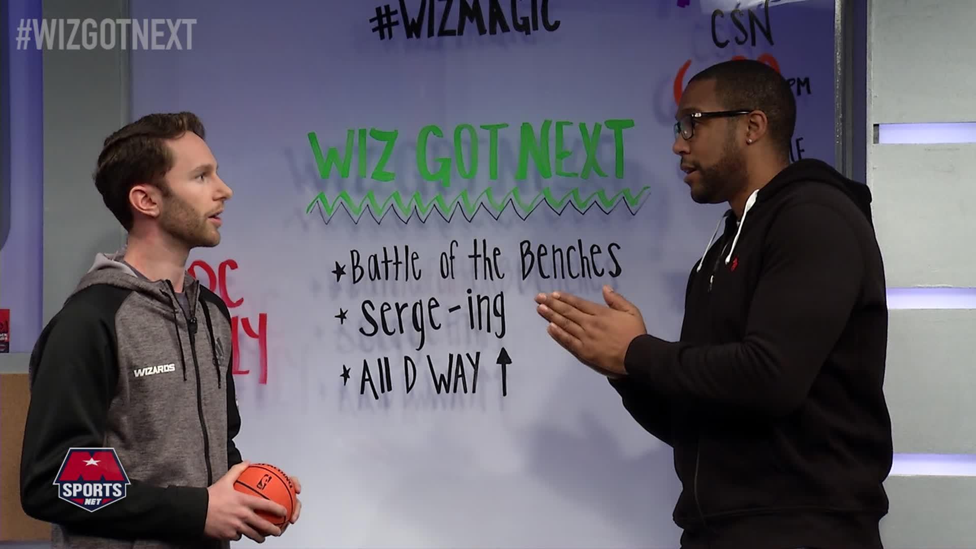 Wiz Got Next: Wiz vs Magic Pt 1 12-6-16